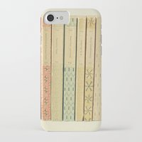 pastel iPhone & iPod Cases featuring Old Books by Cassia Beck