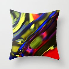 Incarnation of Madness Throw Pillow