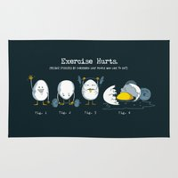 Exercise Hurts Rug