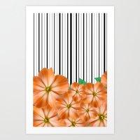 Pattern - 4 Art Print