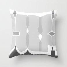 Asymmetry 1 Throw Pillow