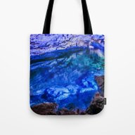 The Underground Lake Tote Bag