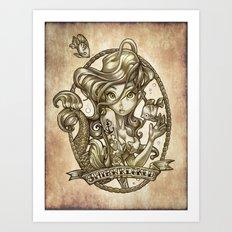 SIREN (sketchbook series) Art Print