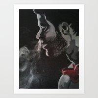 Proper Haze Art Print