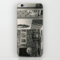 Hanging a painting fail - tim burton iPhone & iPod Skin