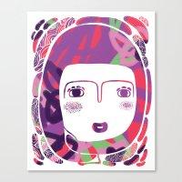 Protect_WHITE Canvas Print