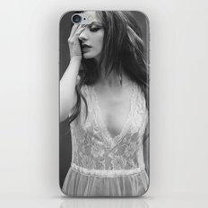 Black wind iPhone & iPod Skin