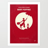 Art Print featuring No539 My Mary Poppins Mi… by Chungkong