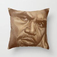 Round 12..manny Pacquiao Throw Pillow