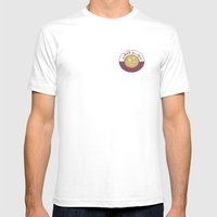 Qeye Mens Fitted Tee White SMALL