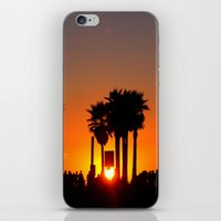 Venice Beach Sunset iPhone & iPod Skin