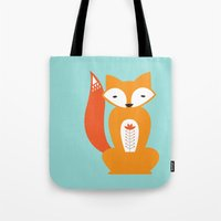 Ferdinand the Fox Tote Bag