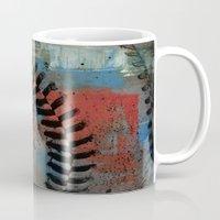 Painted Baseball Mug