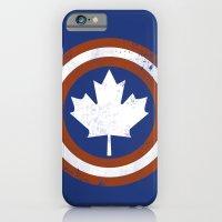 iPhone & iPod Case featuring Captain Canada by trekvix