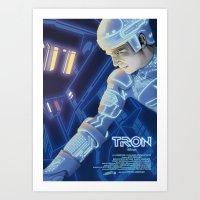 TRON POSTER Art Print