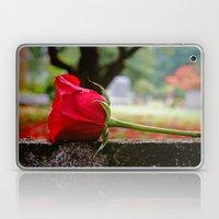 Cemetery Rose Laptop & iPad Skin