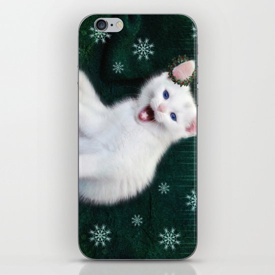 Catching Snowflakes iPhone & iPod Skin