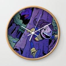 Run Kitty Run! Wall Clock