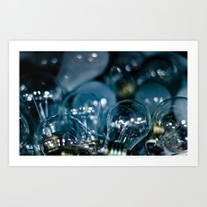 Magically Incandescent Art Print