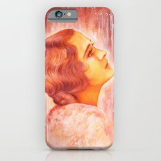 Heading for a fall (Vintage Portrait) Slim Case iPhone 6s