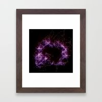 Artificial Constellation Framed Art Print