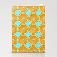 Oranges Fruit Citrus Photo Art Stationery Cards