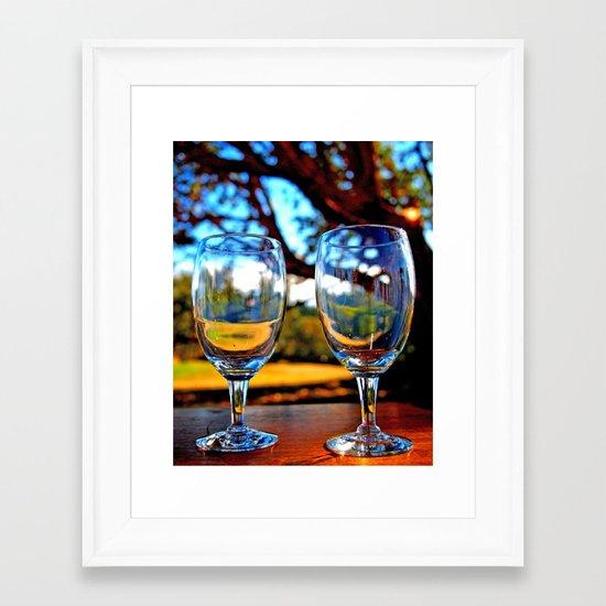 Forever together Framed Art Print