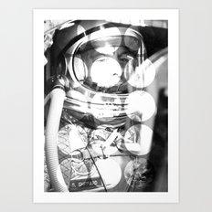 Astrodots Art Print