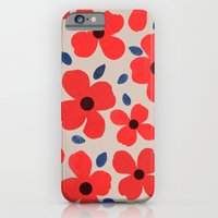 iPhone & iPod Case featuring Dogwood Red by Garima Dhawan