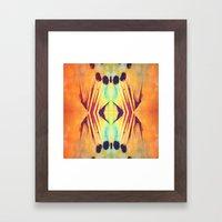 For the love of symmetry Framed Art Print
