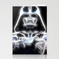 Darth Vader Electric Gho… Stationery Cards