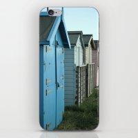 Beach Huts iPhone & iPod Skin