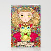 Frog Prince Stationery Cards