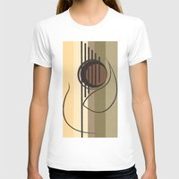guitar T-shirts featuring Guitar by Justis Rivera