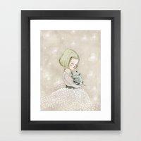 trebol Framed Art Print