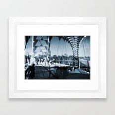 Humber River Bridge Framed Art Print
