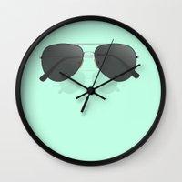 Aviator sunglasses Wall Clock