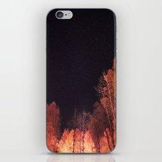 Firey Woods iPhone & iPod Skin