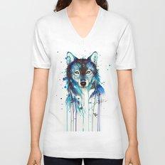 -Dark Wolf- Unisex V-Neck