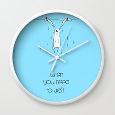 When u need to wait... Wall Clock