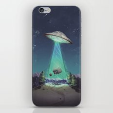 Abducted iPhone & iPod Skin