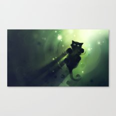 Marchin On Canvas Print