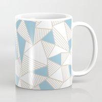 Ab Nude Lines With Blue … Mug