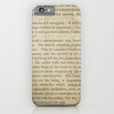 Pride and Prejudice  Vintage Mr. Darcy Proposal by Jane Austen   iPhone 6s Slim Case