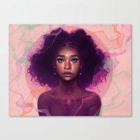Facets Canvas Print