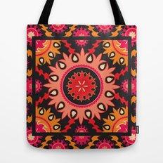 Ethnic asian ornament Tote Bag