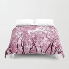 Pink view - photography Duvet Cover