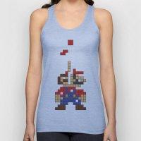 Super Mario Tetris Unisex Tank Top