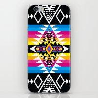 Big Diamond CMYK iPhone & iPod Skin