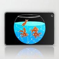 Cosmic Fish Laptop & iPad Skin